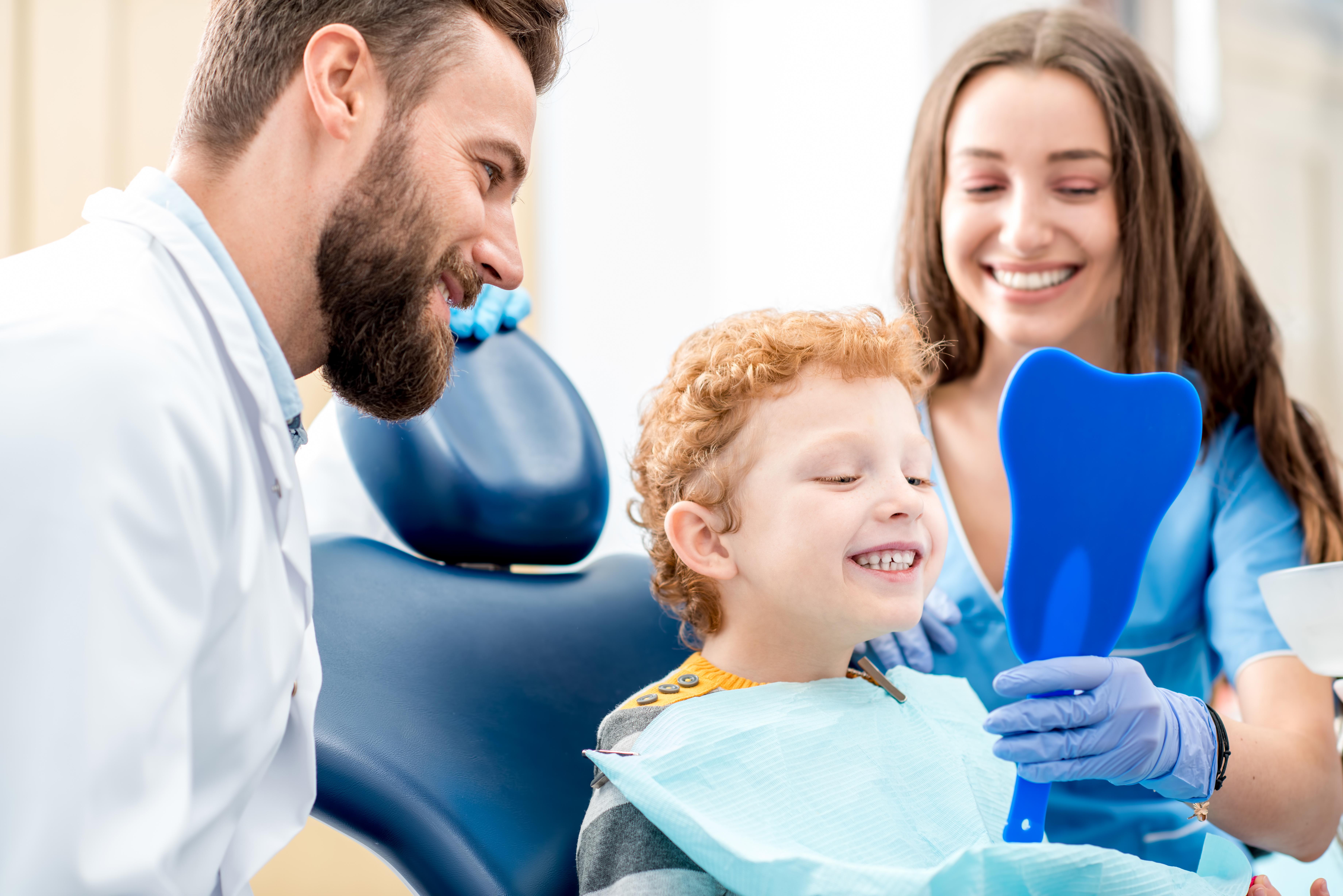 Sedazione cosciente bambini dentista